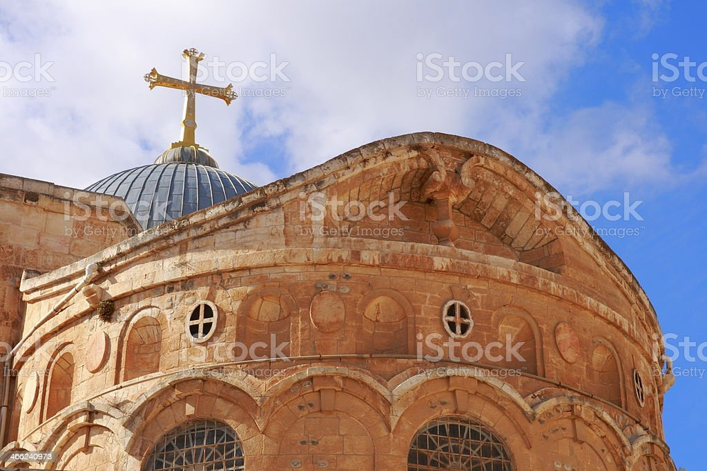 The Holy Sepulcher royalty-free stock photo