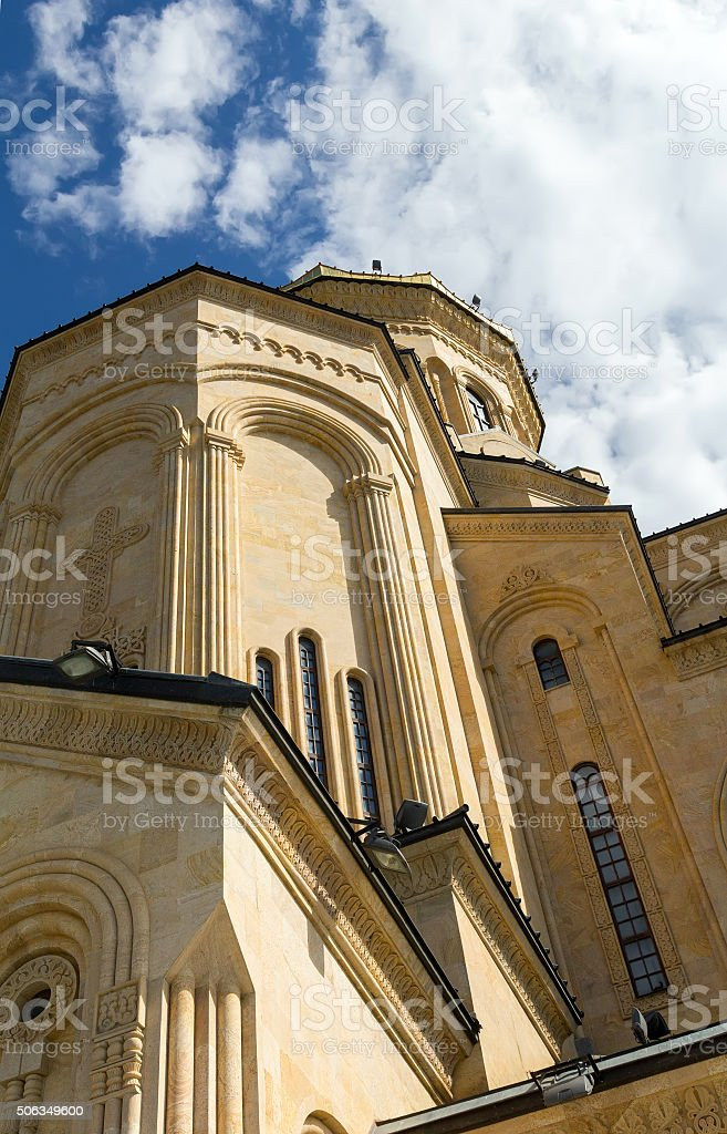 The Holy Trinity Cathedral commonly known as Sameba stock photo
