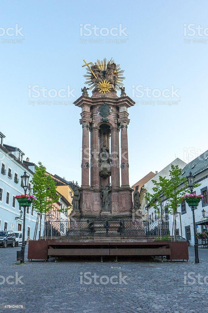 The Holy Trinity Column stock photo
