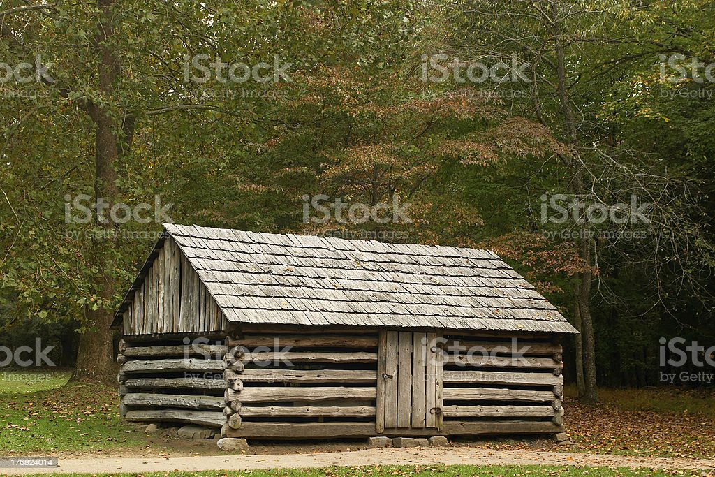 The homestead royalty-free stock photo
