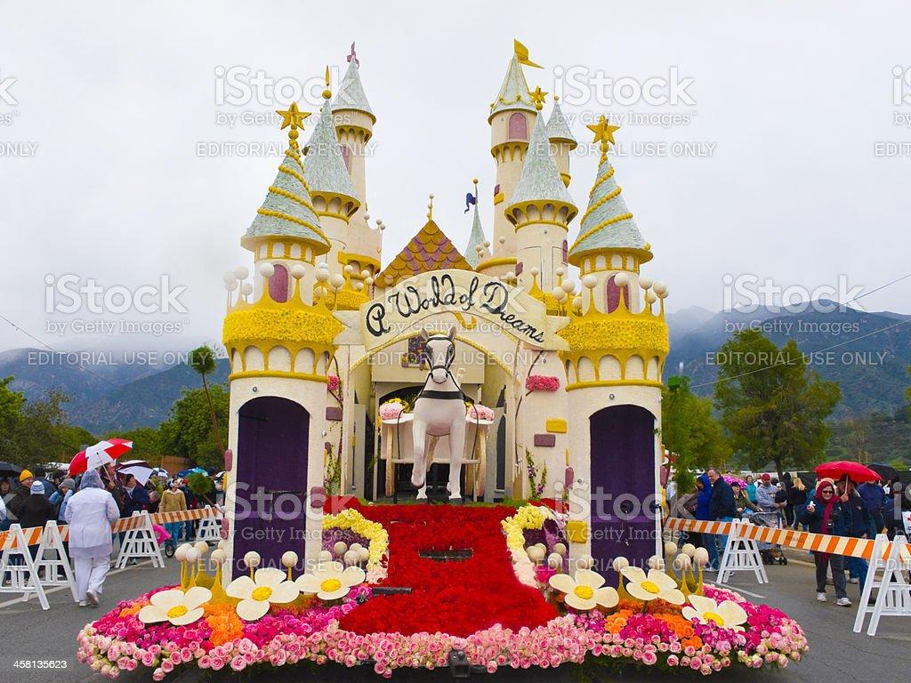 The Honda 2011 Rose Parade Float stock photo