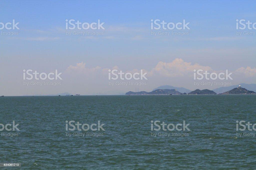 the Hong Kong Boundary Crossing Facilities stock photo
