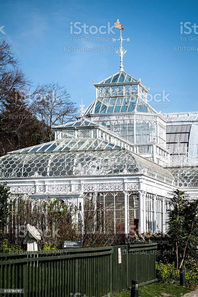The Horniman Museum Conservatory stock photo