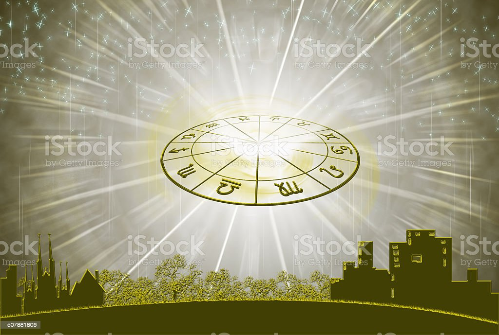 the horoscope concept stock photo