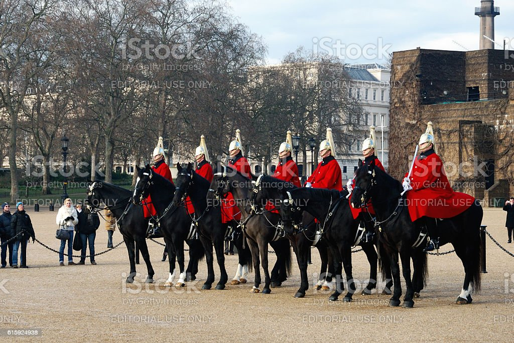 The Horse Guard stock photo