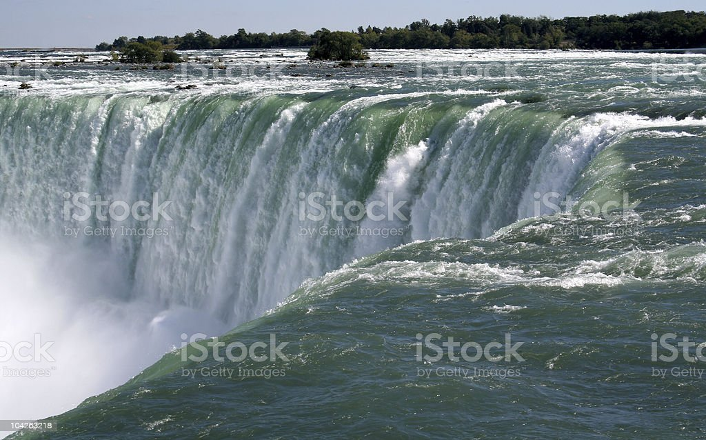 The Horseshoe Falls royalty-free stock photo