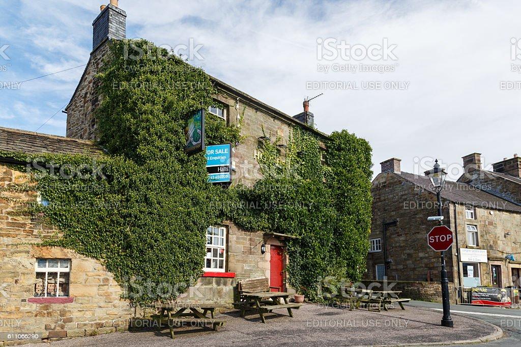 The Horseshoe Inn, Longnor, Staffordshire stock photo