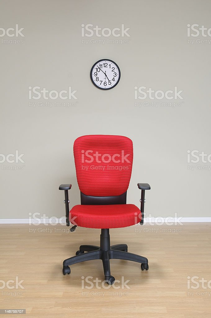 The Hot Seat royalty-free stock photo