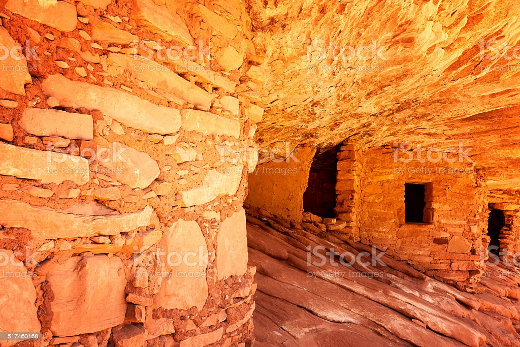 The House of Fire stock photo