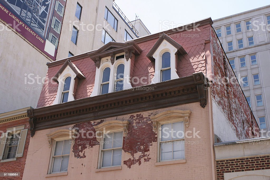 The House Where Lincoln Died stock photo
