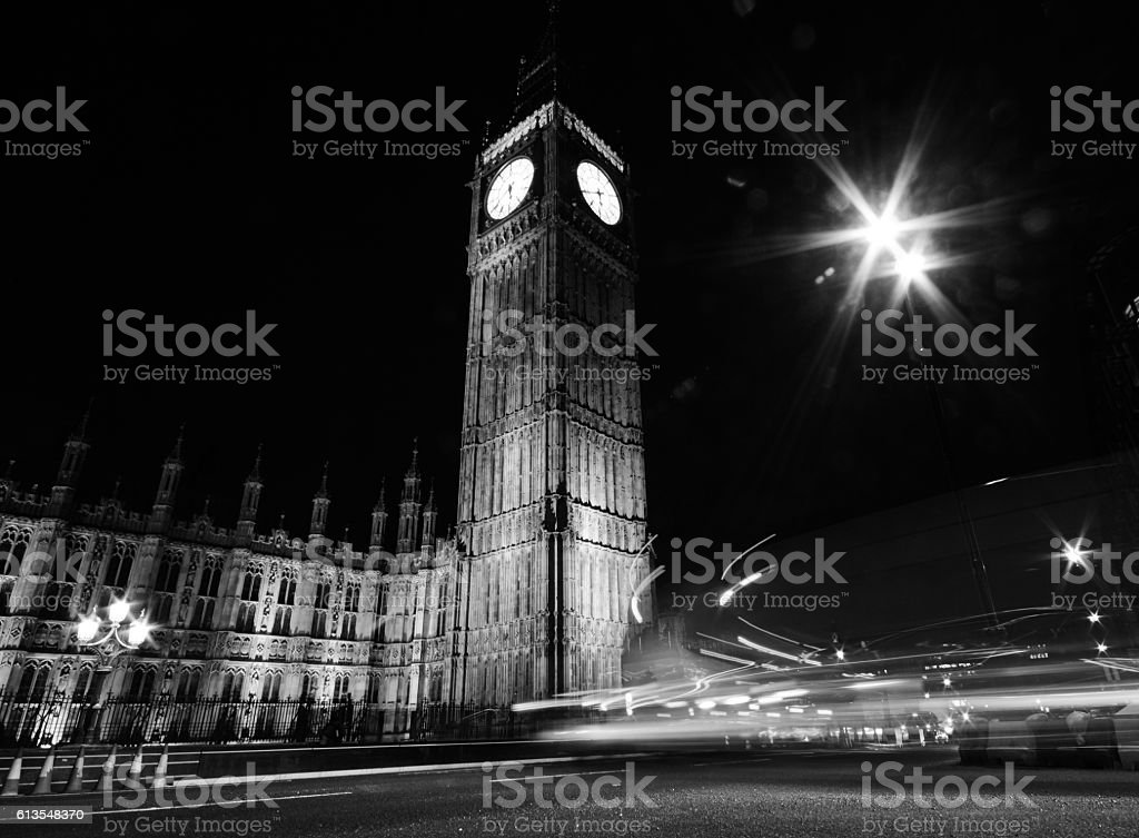 The Houses Of Parliament (Big Ben) stock photo