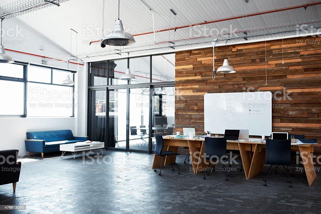 The hub of creativity stock photo