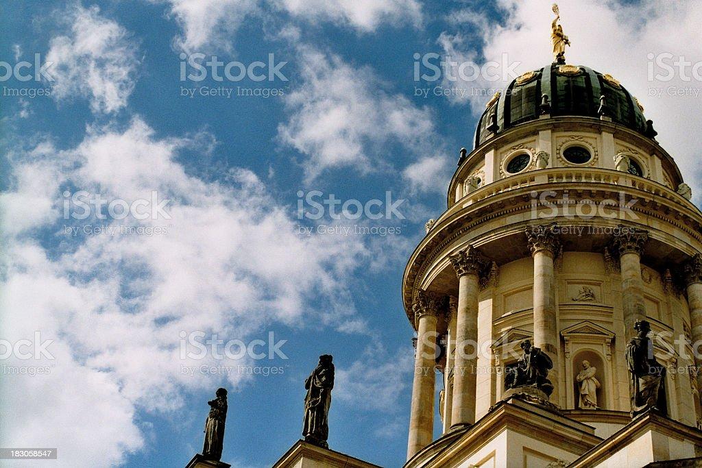 The Huguenot Franzosischer Dom - Berlin stock photo