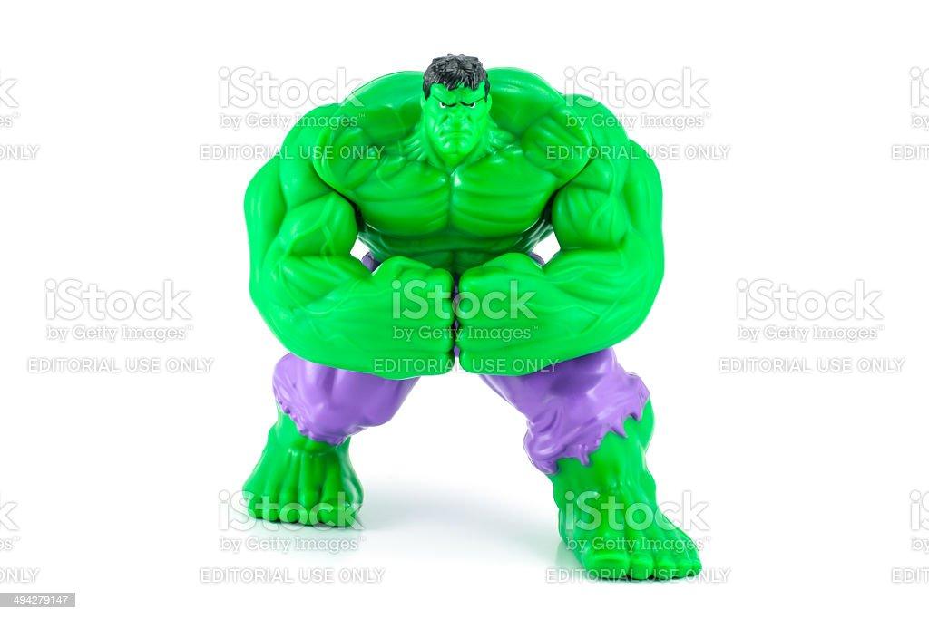 The hulk from the hulk movie stock photo