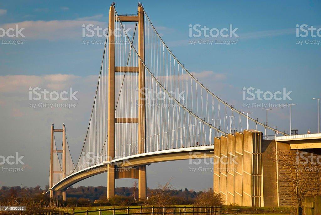 The Humber Bridge stock photo
