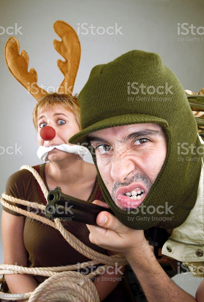 The hunter royalty-free stock photo