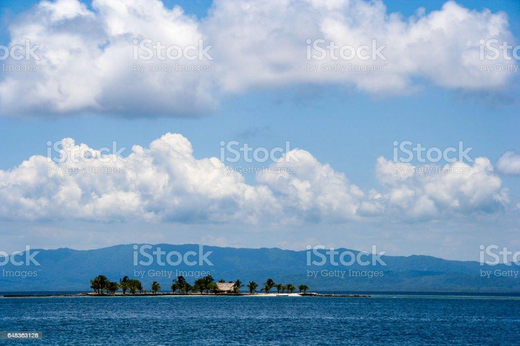 The idyllic San Blas Islands in Panama stock photo