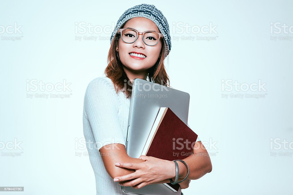 The image of Asian women stock photo