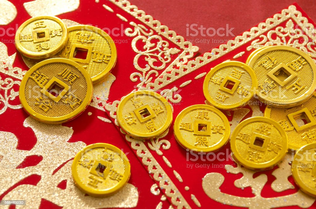 The image of Chinese new year stock photo