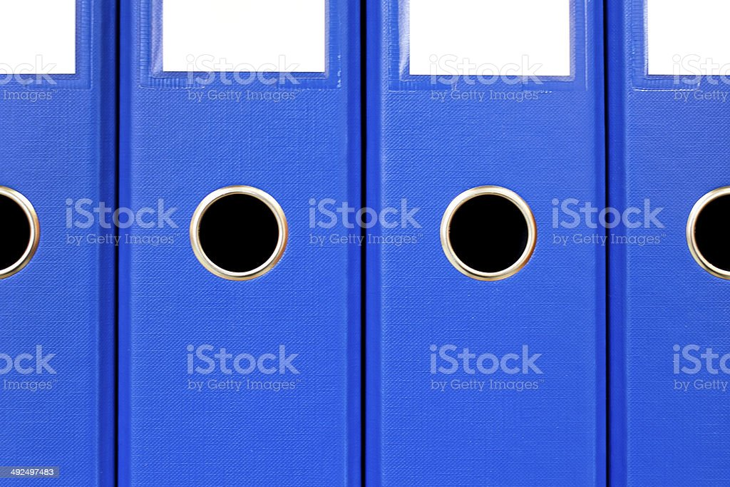 The image of file folders. royalty-free stock photo