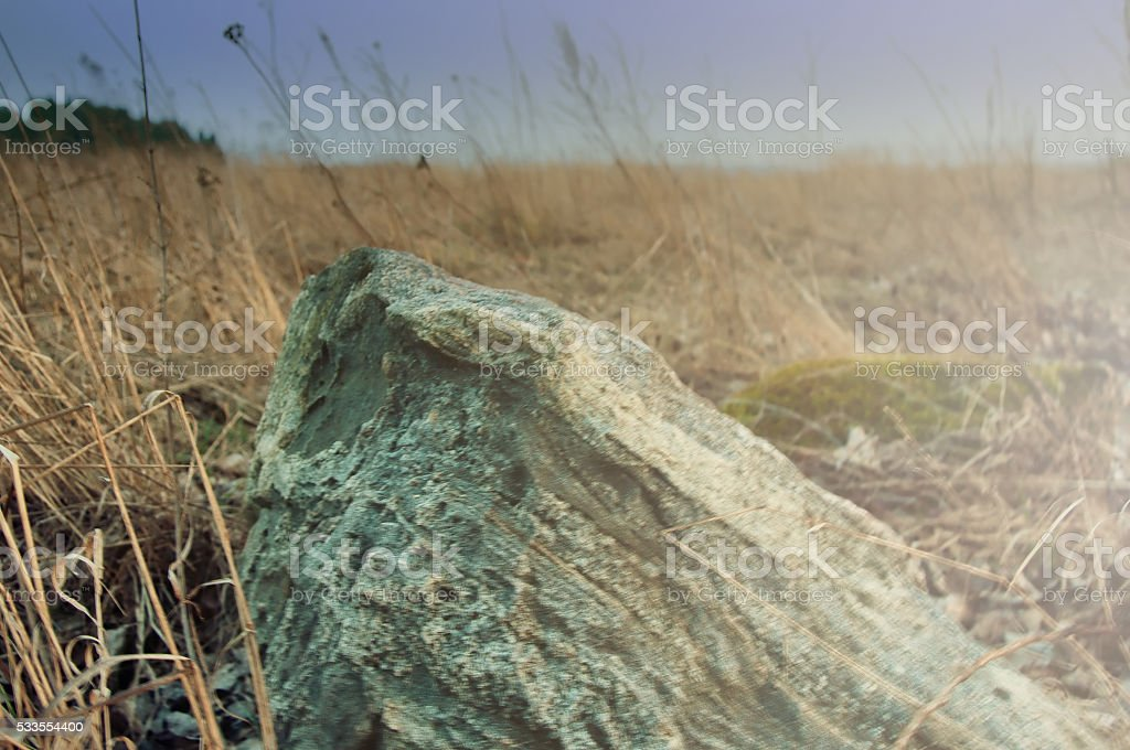 The image of rock stone stock photo