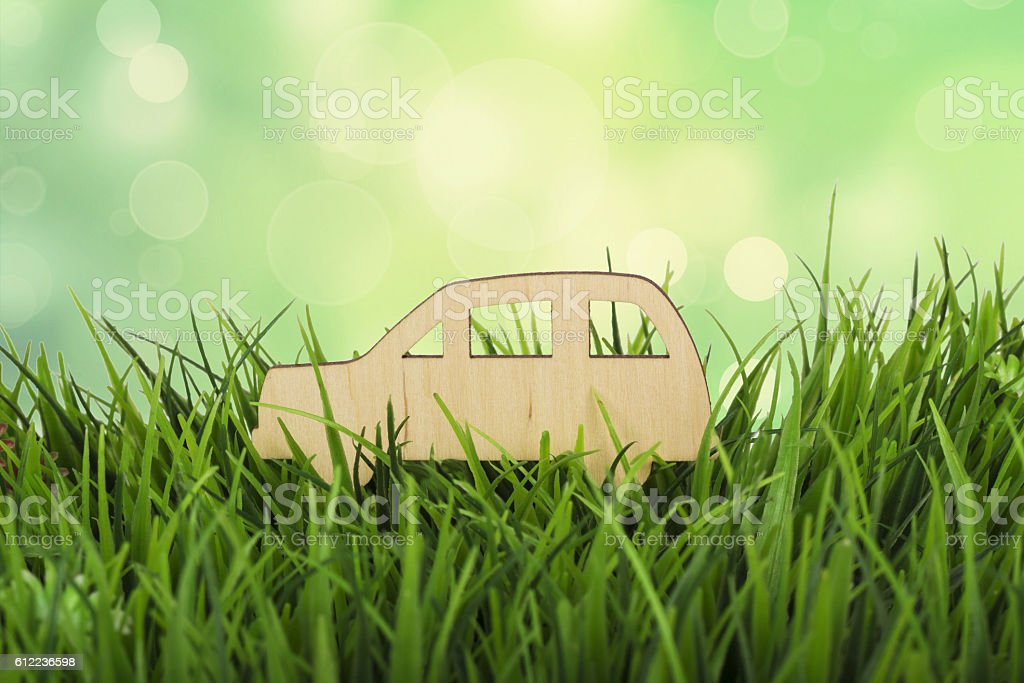The impact of transport on the environment. Conceptual photo stock photo