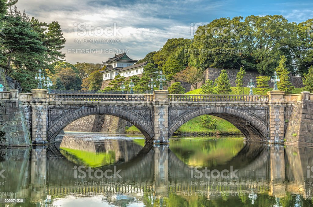 The Imperial Palace in Tokyo, Japan stock photo