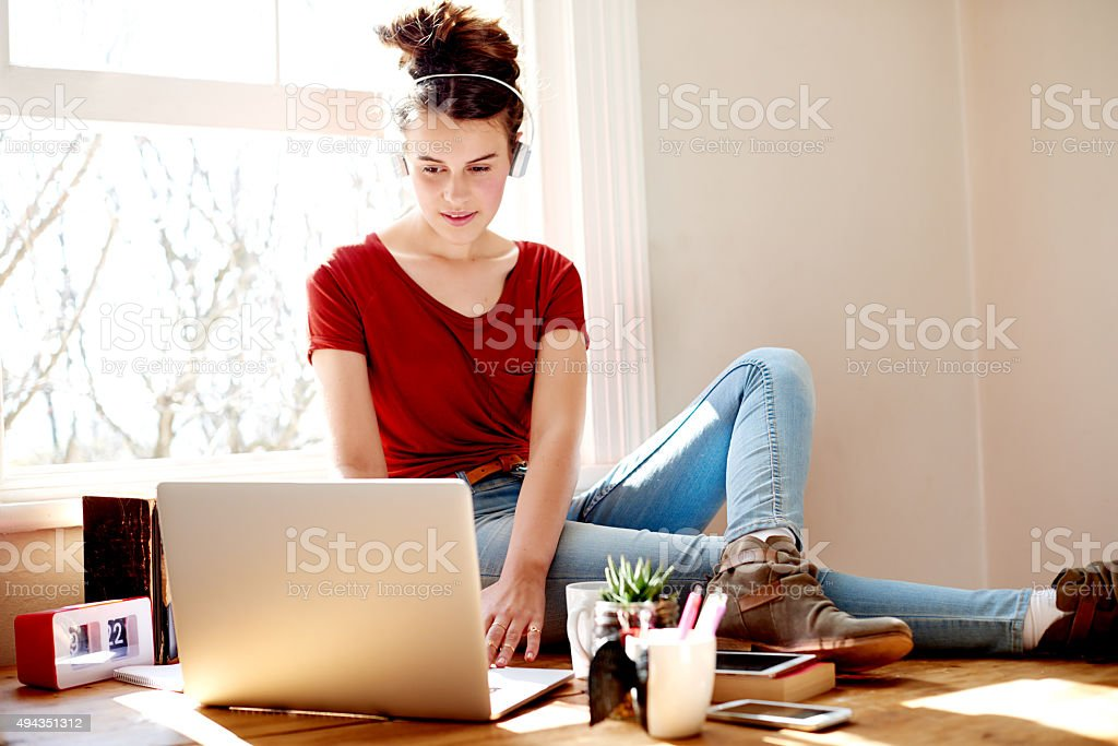 The important thing is to never stop questioning stock photo