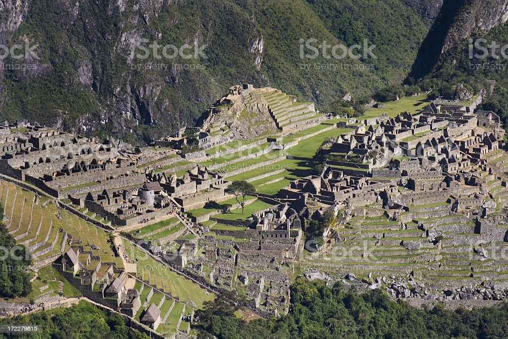 The Inca City of Machu Picchu royalty-free stock photo