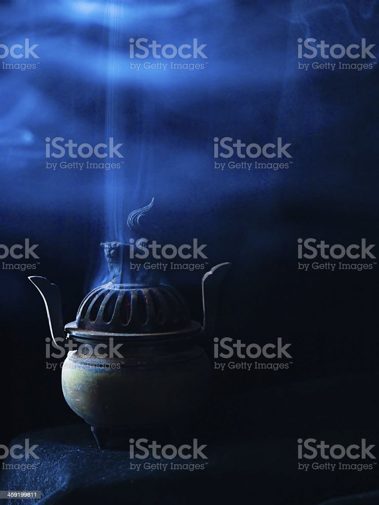 The Incense stock photo