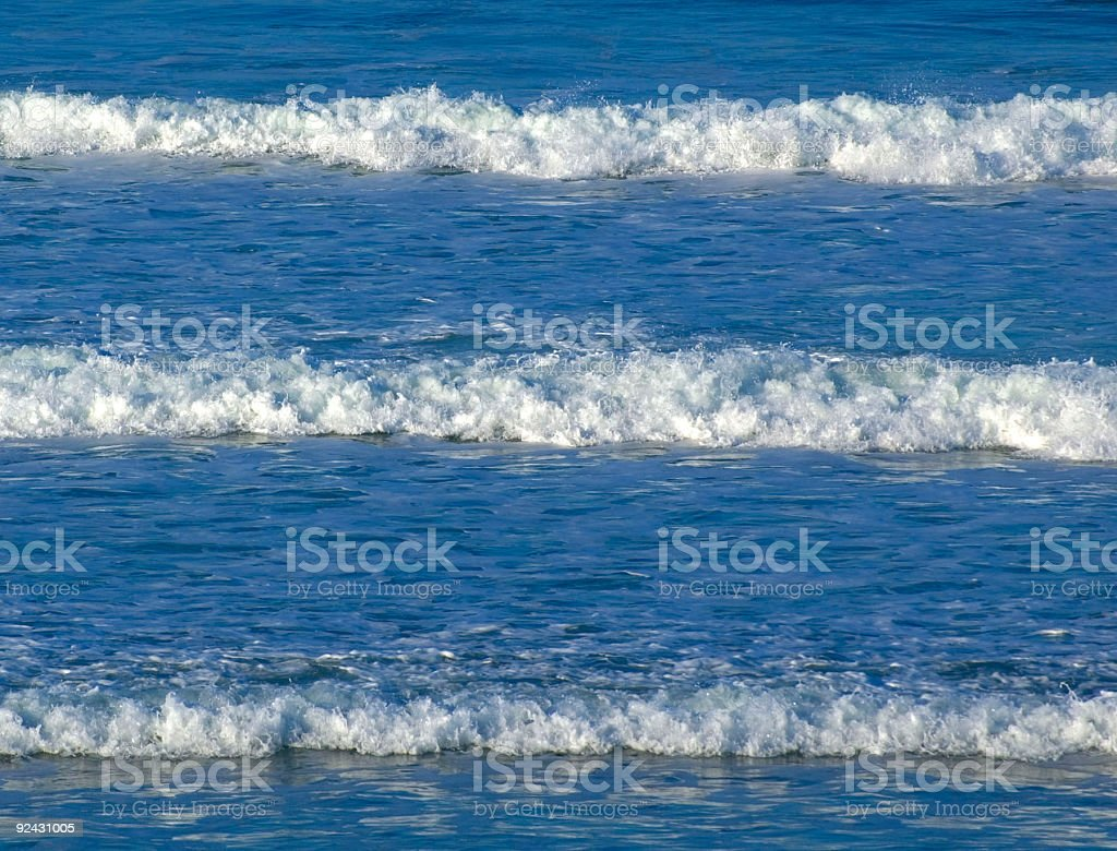 the incoming tide royalty-free stock photo