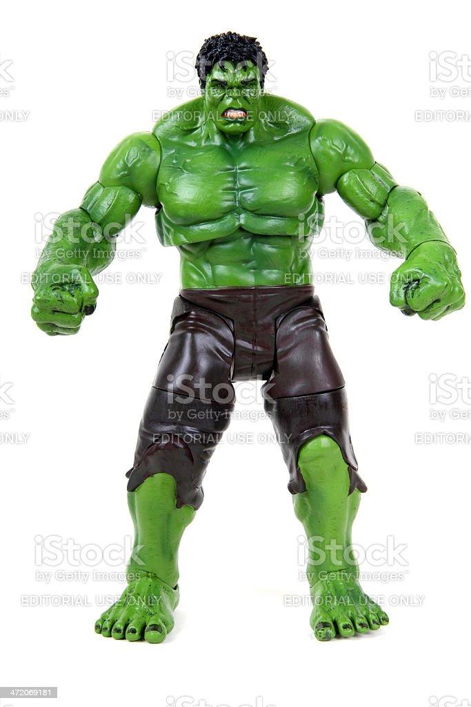 The Incredible Hulk stock photo