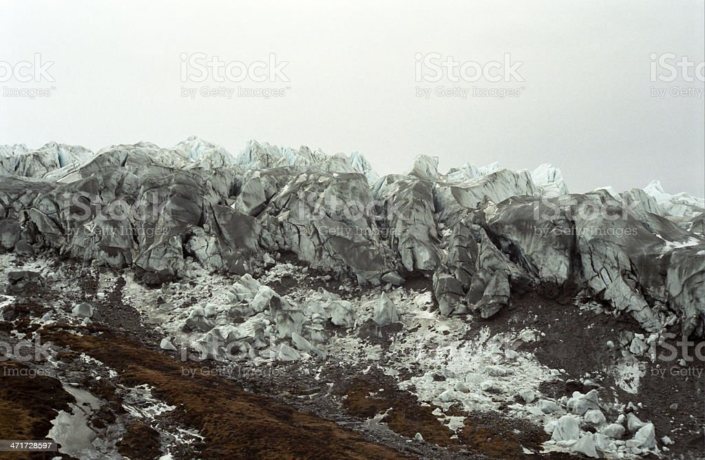 The Inner Icefield, Greenland royalty-free stock photo