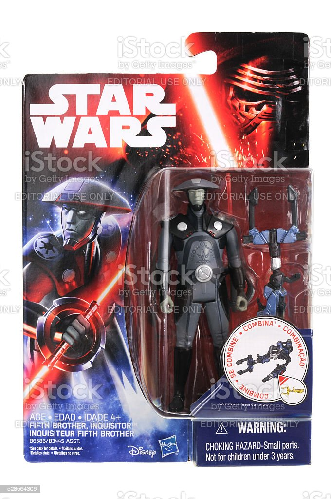 The Inquisitor Fifth Brother Action Figure stock photo