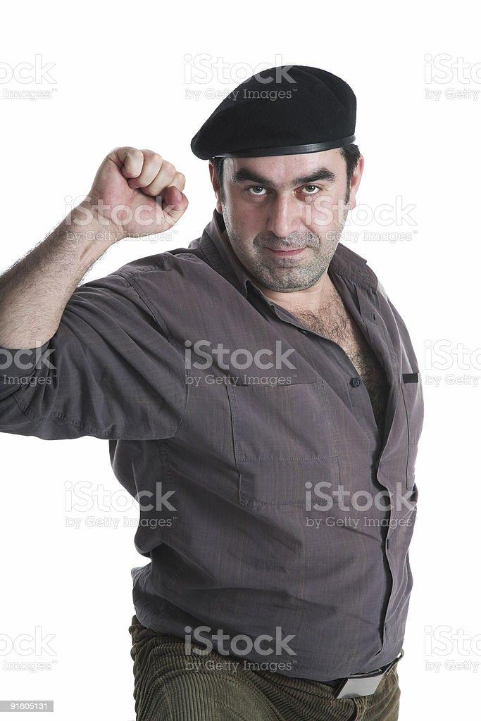 The insurgent stock photo