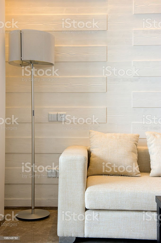 the interior of a modern home royalty-free stock photo
