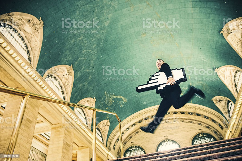 The Internet Gets you places royalty-free stock photo