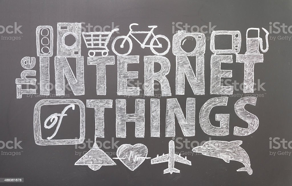 The internet of things stock photo