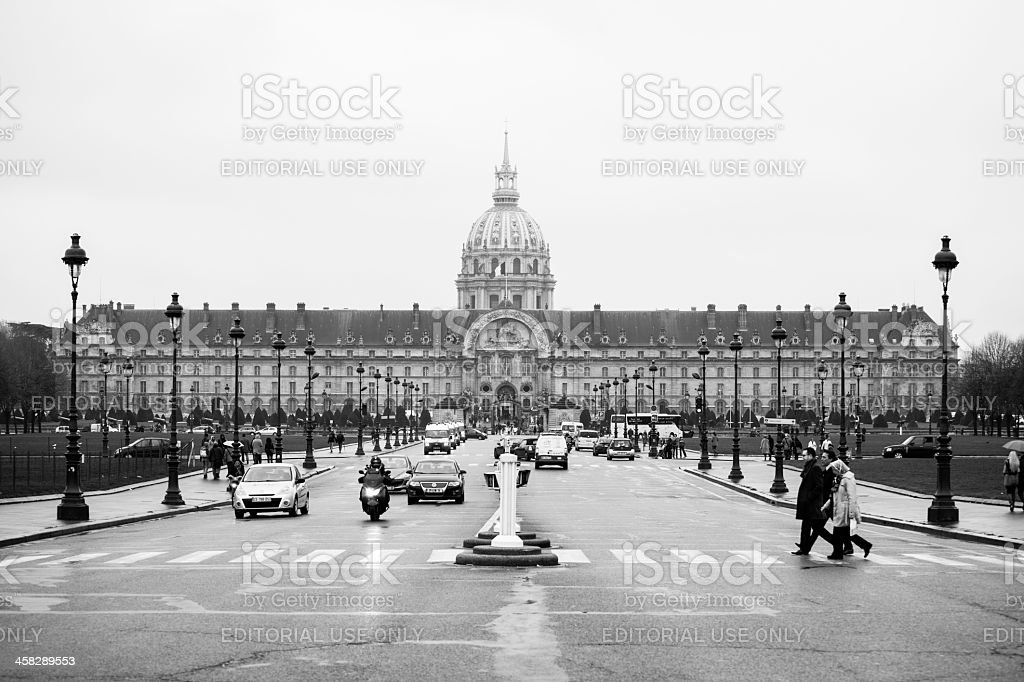 Les Invalides royalty-free stock photo