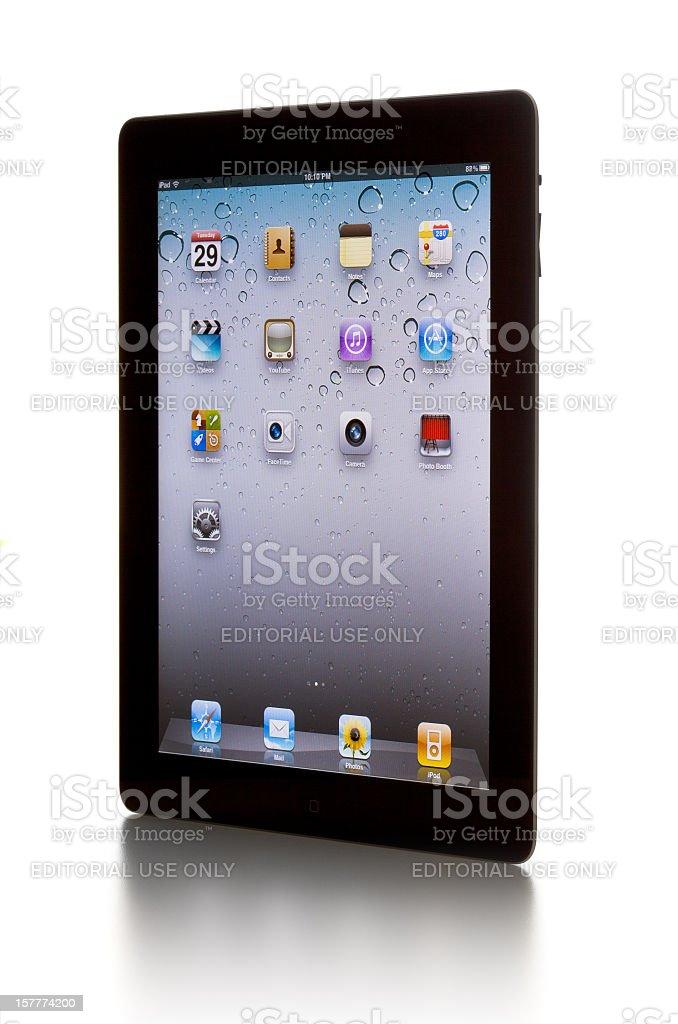 the iPad 2 royalty-free stock photo