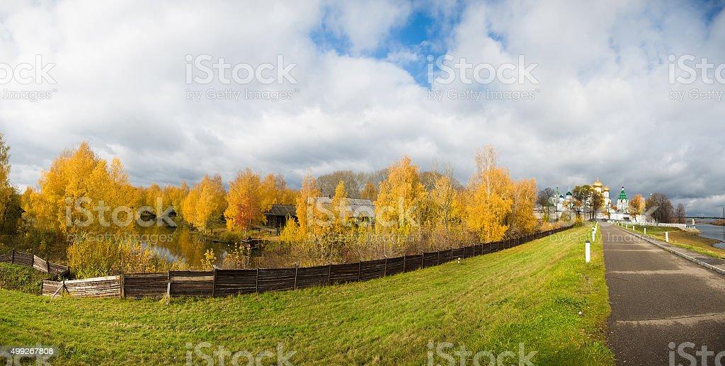 The Ipatiev Monastery stock photo