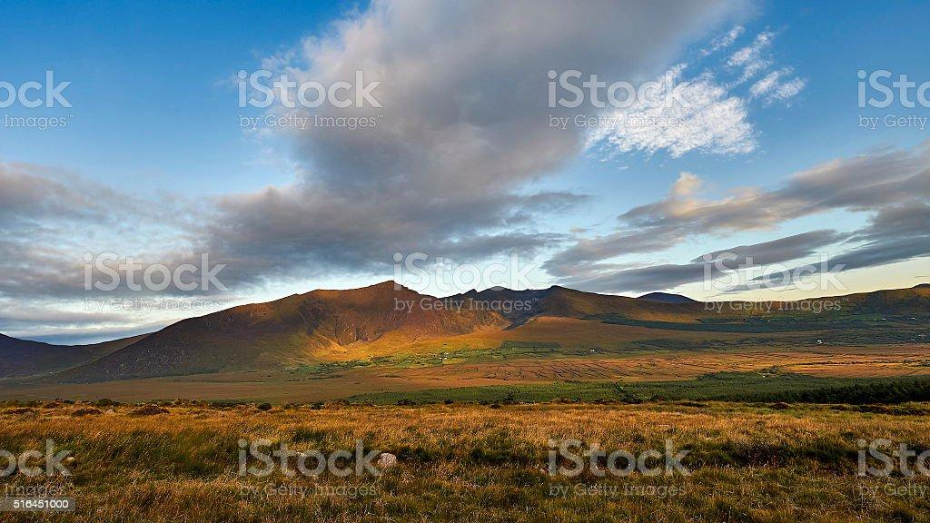 The Irish landscape, Ireland,nature stock photo