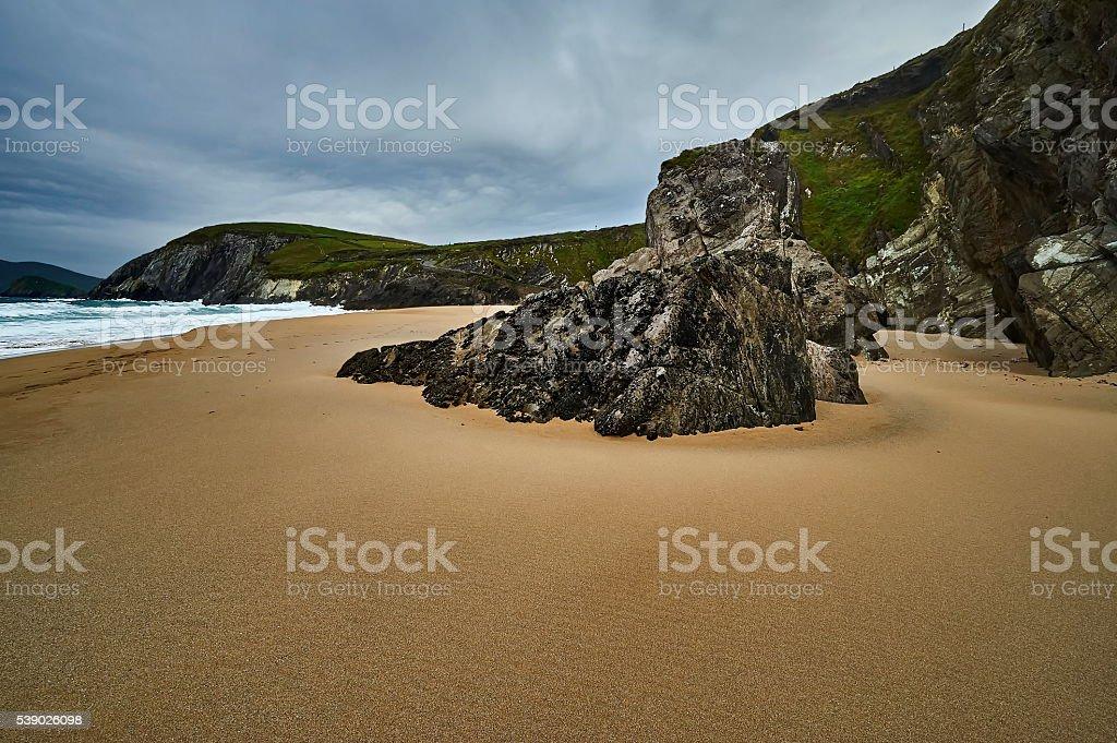The Irish landscape, Slea Head - Ireland stock photo