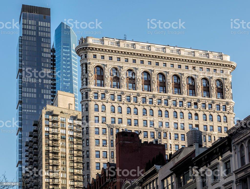 The Iron Building stock photo