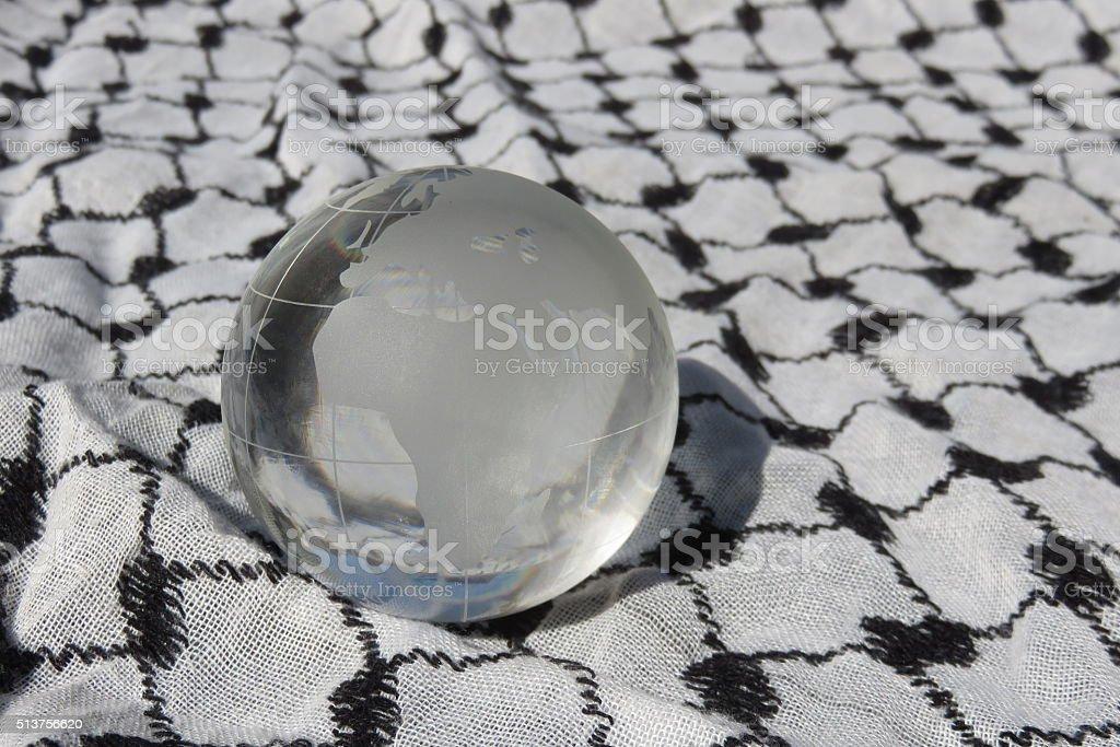 The Islamic world Concept stock photo