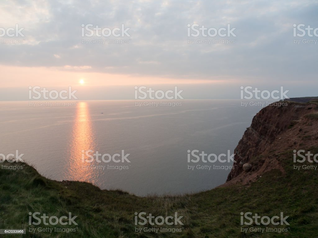the island helgoland stock photo