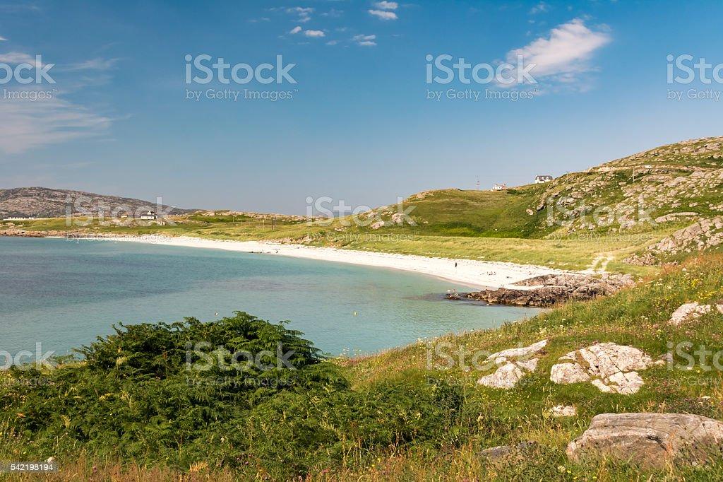 The Island of Eriskay, Scotland stock photo