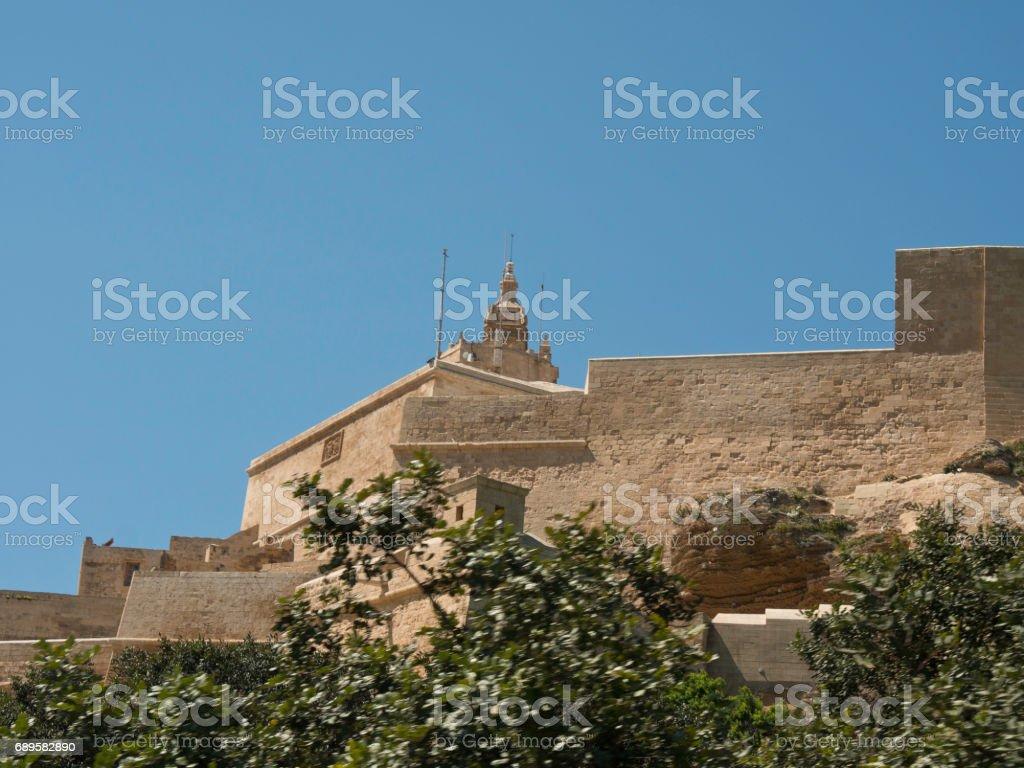the island of gozo stock photo