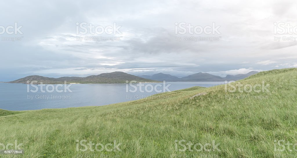 the Island of Harris, Scotland stock photo