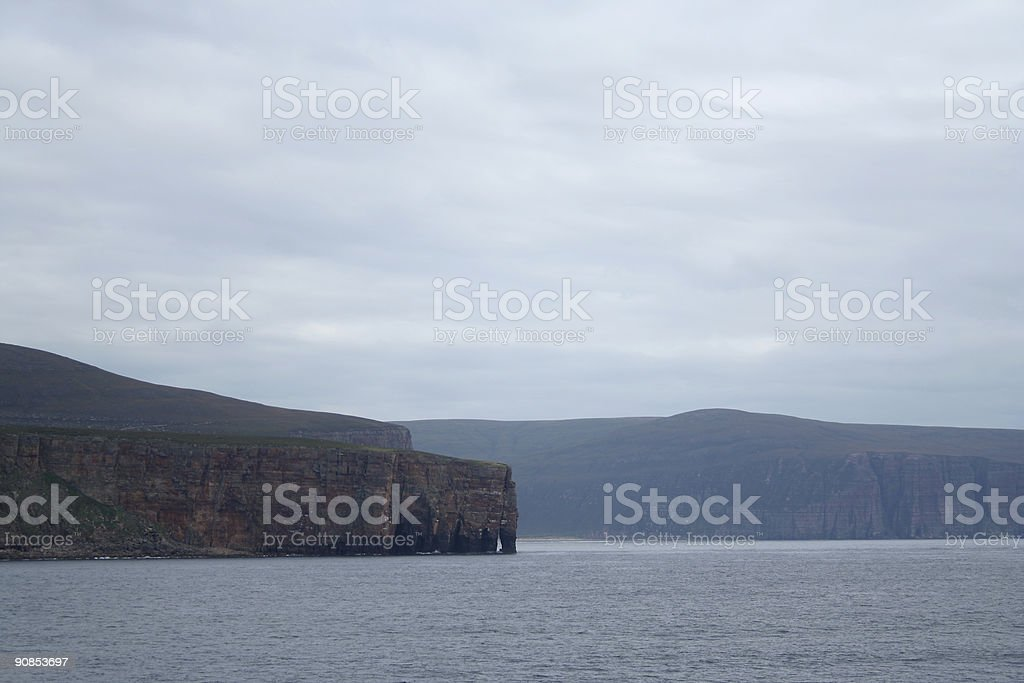 The island of Hoy stock photo